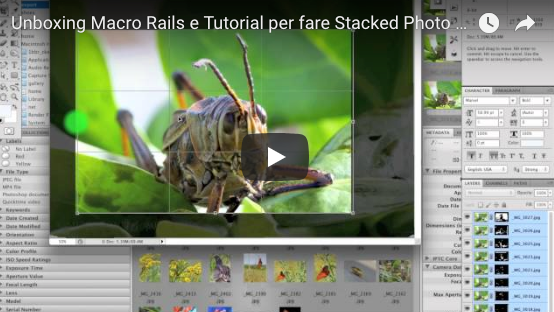 Ecco un tutorial su come per fare Stacked Photo in Photoshop