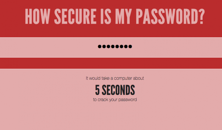 password sicure sul web