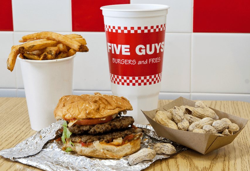 five guys burger milano