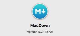 macdown per mac
