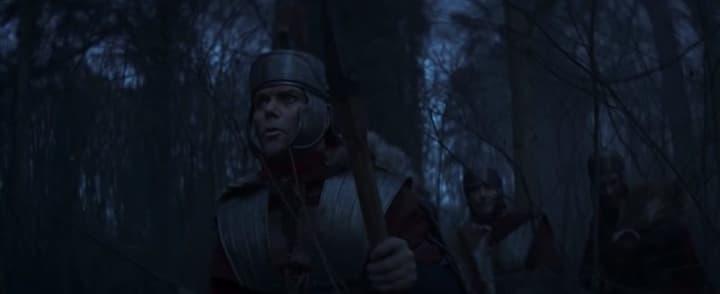 I soldati romani nella foresta di Teutoburgo.