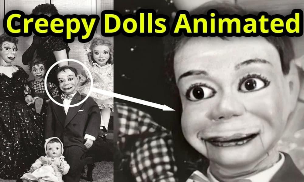 10 bambole, marionette e clown paurosi animati con Deep Nostalgia