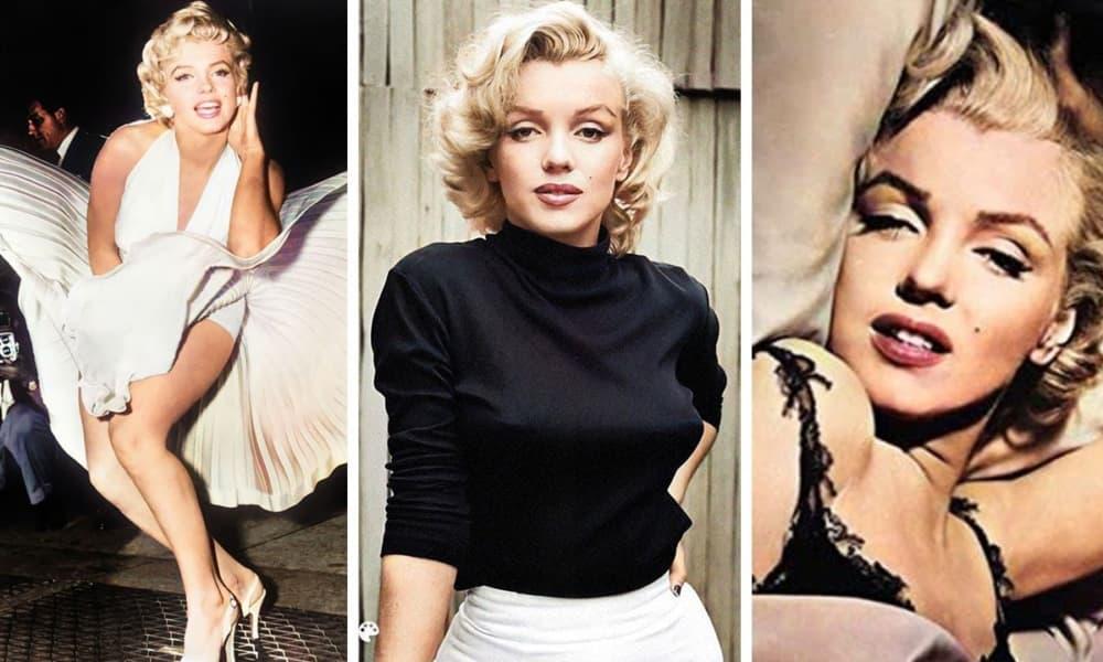 10 top sexy foto di Marilyn Monroe animate con Deep Nostalgia